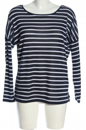 Calliope Longsleeve blue-white striped pattern casual look