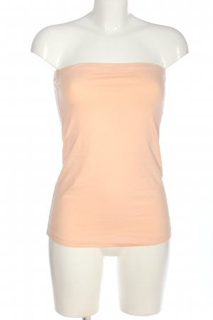 Calliope Off-The-Shoulder Top nude casual look