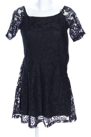 Calliope Spitzenkleid schwarz Elegant