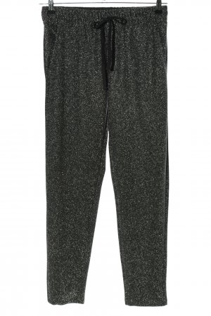 Calliope Jersey Pants black flecked casual look