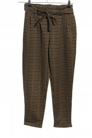 Calliope Stretch Trousers check pattern casual look