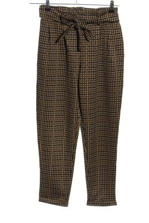 Calliope Pantalone elasticizzato motivo a quadri stile casual