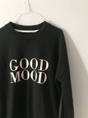 Calliope Sweatshirt noir-blanc