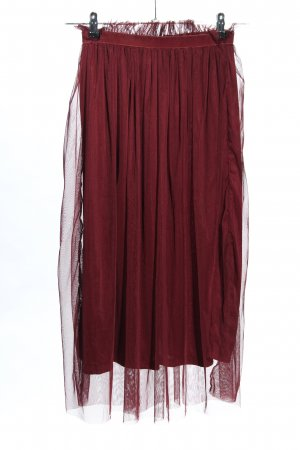 Calliope Tulle Skirt red transparent look