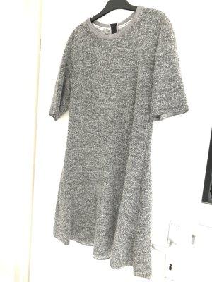 Calvin Klein Jeans Sukienka mini srebrny-szary Wełna z alpaki