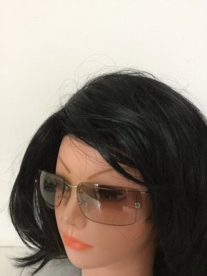 Calvin Klein Hoekige zonnebril lichtbruin