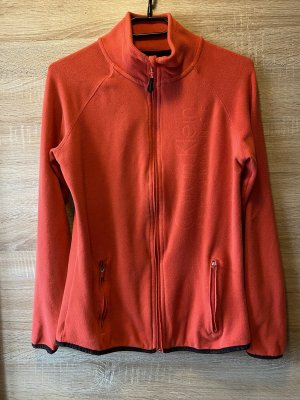 Calvin Klein Pullover in pile rosso lampone