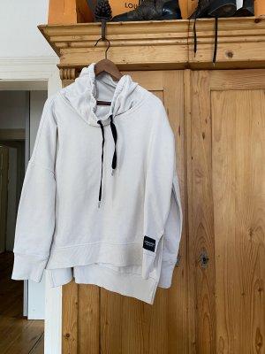 Calvin Klein Sweatshirt beige clair-noir