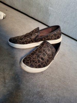 Calvin Klein Wedge Sneaker brown