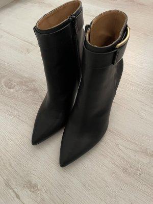Calvin Klein Laarzen met hak zwart