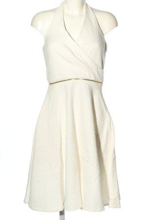 Calvin Klein Sukienka o kroju litery A biały Elegancki