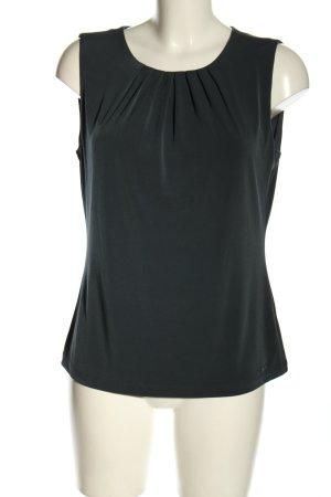 Calvin Klein Mouwloze blouse zwart zakelijke stijl