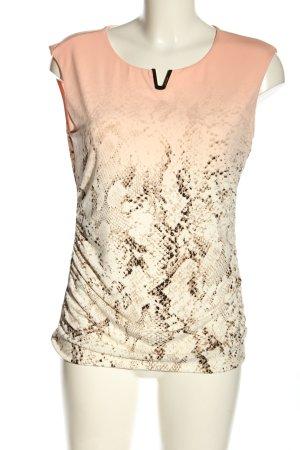 Calvin Klein Mouwloze blouse dierenprint casual uitstraling
