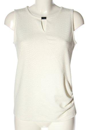 Calvin Klein ärmellose Bluse weiß Casual-Look