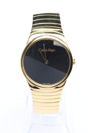 Calvin Klein Montre analogue doré style décontracté