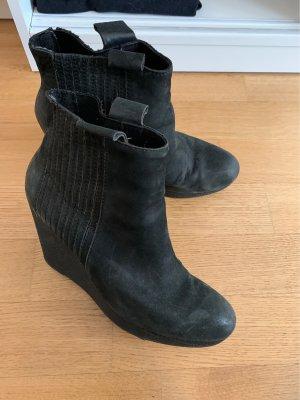 Calvin Klein Jeans Botas de tobillo negro