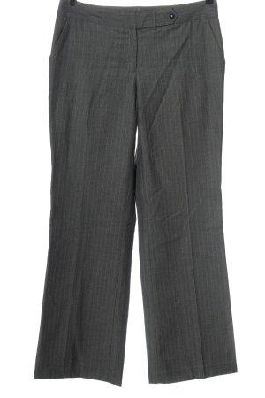 Calvin Klein Spodnie garniturowe jasnoszary Wzór w paski W stylu biznesowym