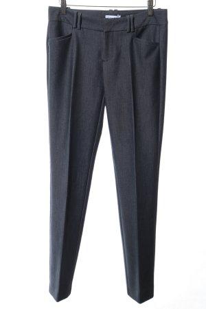 Calvin Klein Pantalon blauw gestippeld zakelijke stijl