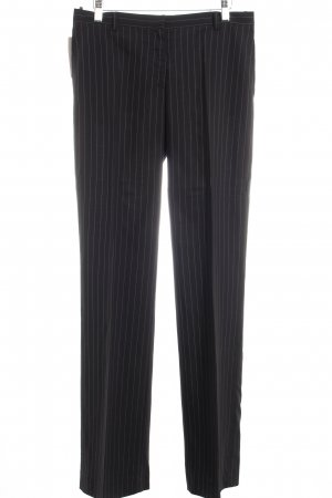 Calvin Klein Anzughose weiß-schwarz Business-Look