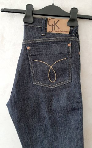 Calvin Klein Jeans slim bleu foncé