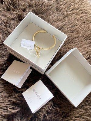 Calvin Klein Brazalete de oro color oro