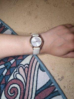Calvin Klein Armbanduhr, Lederarmband