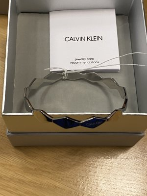 Calvin Klein Armreif silberfarben