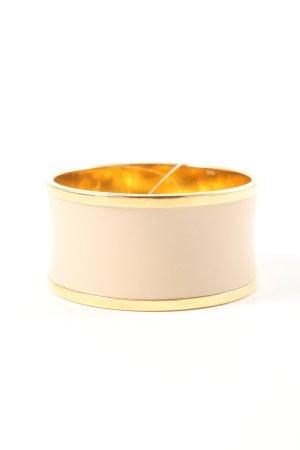 Calvin Klein Bracelet de bras crème-doré élégant