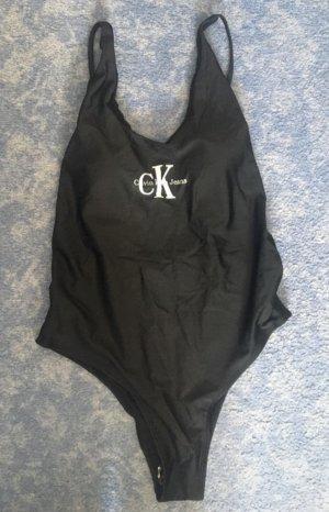 Calvin Klein Zwempak zwart-wit