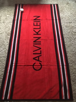 Calvin Klein Beach Towel multicolored