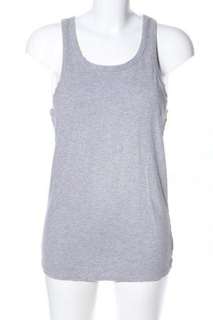 Calvin Klein Basic topje lichtgrijs gestippeld casual uitstraling