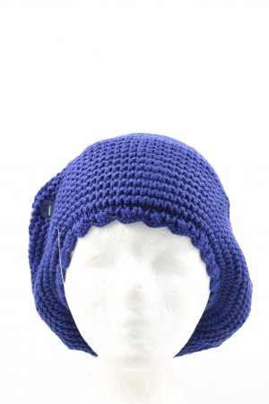 Calvin Klein Baskenmütze blau Casual-Look