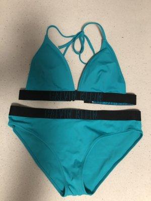 Calvin Klein Bikini blauw-zwart