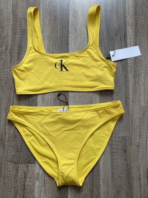 Calvin Klein - Bikini-Top + Bikini-Slip, Gr. S. Neu