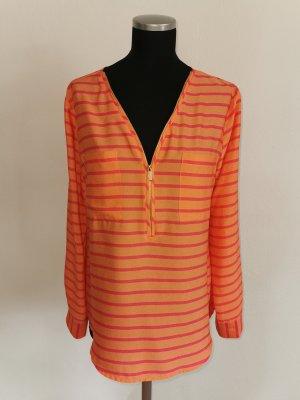 Calvin Klein Long Sleeve Blouse multicolored polyester