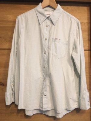 Calvin Klein Bluse Denim Jeansbluse Hemd