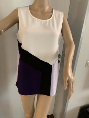 Calvin Klein Bluse Gr.L in Lila/ Weiß  NEU mit Etikett