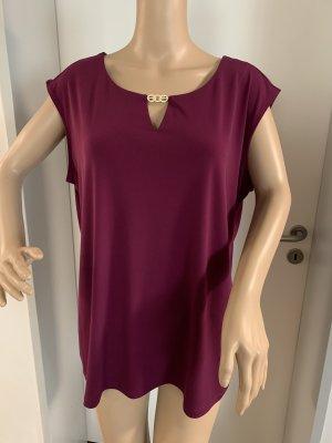 Calvin Klein Blouse à manches courtes violet