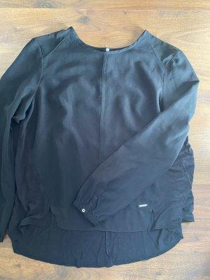 Calvin Klein Bluse Oberteil schwarz