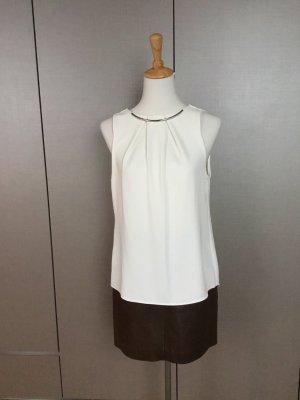 Calvin Klein Lange blouse wit