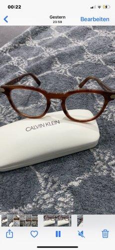 Calvin Klein Gafas panto color bronce