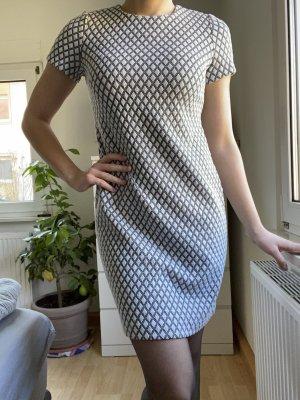 Calvin Klein Sukienka dresowa biały-czarny