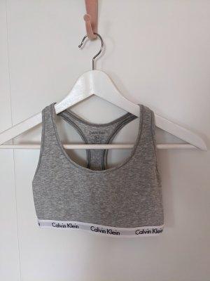 Calvin Klein Top bustino grigio chiaro-grigio