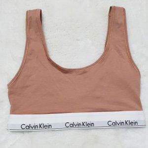 Calvin klein Bustier BH Sporttop Nude
