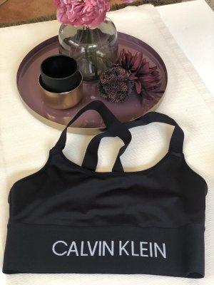 Calvin Klein Sporttop zwart-wit