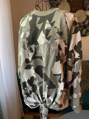 Calvin Klein Camouflage Sweater