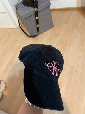 Calvin Klein Berretto da baseball nero-rosa