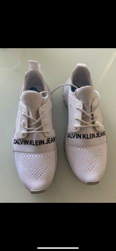 Calvin Klein Sneaker stringata bianco