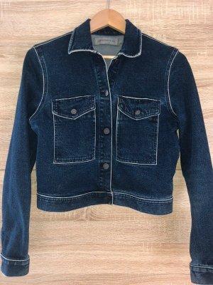 Calvin Klein ck kurze Jeansjacke, blau