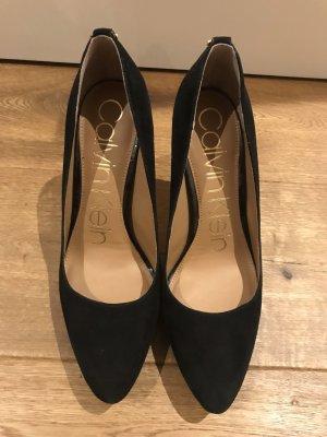 Calvin Klein / CK schwarze High Heels Gr 38